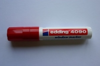 Edding 4090 window marker 4-15mm rot