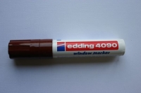 Edding 4090 window marker 4-15mm braun