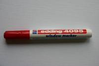 Edding 4095 window marker 2-3mm rot