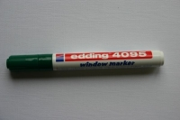 Edding 4095 window marker 2-3mm grün