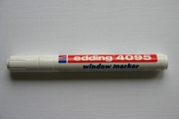 Edding 4095 window marker 2-3mm weiß