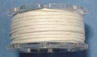 Baumwoll-Schmuckkordel 1mm 5m weiß (Restbestand)