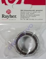 Baumwoll-Schmuckkordel 1mm 5m braun (Restbestand)