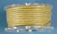 Baumwoll-Schmuckkordel 1mm 5m natur (Restbestand)