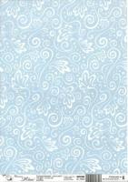 Transparentpapier A4 Milano blau