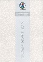 Transparentpapier White Line Glitter Ranken