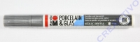 Marabu Porcelain&Glas Painter 1-2mm silber