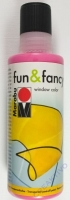 Marabu Fun & Fancy Window Color 80ml himbeere