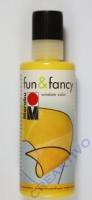 Marabu Fun & Fancy Window Color 80ml gelb