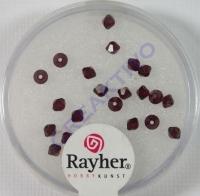 Rayher Swarovski Kristall-Schliffperlen 3mm granat