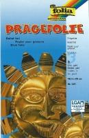Prägefolie 3 Blatt gold 18,5x29cm