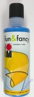 Marabu Fun & Fancy Window Color 80ml ultramarinblau