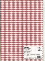 Rauten Tonpapier 130g/qm 10 Blatt beidseitig