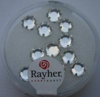 Glas-Strasssteine kristall 12St 6,4mm
