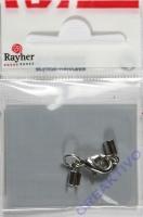 Rayher Verschluss 2mm silberf.