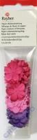 Papier-Blütenmischung 1,5-2,5cm pink