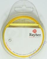 Rayher Satinband 3mm 10m gelb