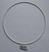 Metallring beschichtet weiß 20cm