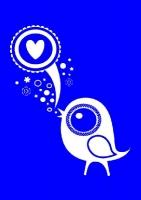 My Style Schablone DIN A4 Love Bird (Restbestand)
