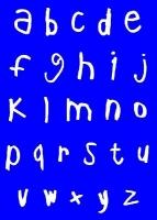 My Style Schablone DIN A4 Alphabet Kleinbuchstaben (Restbestand)