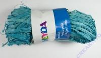 Naturbast, farbig 50g pastellblau