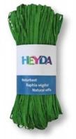 Naturbast, farbig 50g apfelgrün