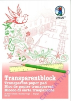 Transparentblock A4 25 Blatt Transparentpapier