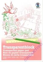 Transparentblock A3 25 Blatt Transparentpapier