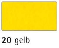 Rayher Textilfilz 4mm Bogen 30x45 gelb