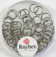 Rayher Ringel 7mm platinf.