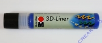 Marabu 3D Liner 25ml mittelblau