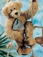 Teddy Florian 50cm beige gewirbelt