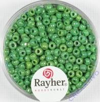 Rocailles 2,6mm ø opak gelüstert grün