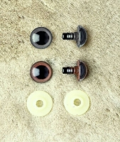 Augen aus Kunststoff 10mm schwarz 2 Stück