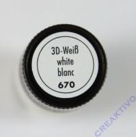 Marabu 3D Liner 25ml weiß