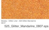 Marabu Glitter Liner 25ml Glitter-mandarine