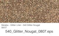 Marabu Glitter Liner 25ml Glitter-nougat
