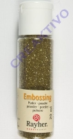 Embossing-Puder 20ml brill.gold deckend