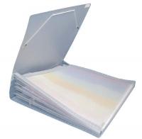 Fächertasche für Scrapbooking-Papiere 7 Fächer