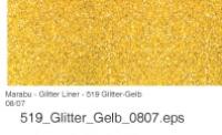 Marabu Glitter Liner 25ml Glitter-champagner