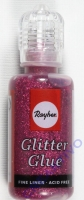 Glitter Glue metallic 20ml klassikrot
