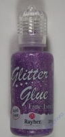 Glitter Glue metallic 20ml lavendel