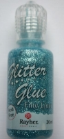 Glitter Glue metallic 20ml lagune