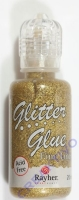 Glitter Glue holographisch 20ml brill.gold