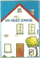 Jan Vis Doppelkarte 17x12cm Ein neues Zuhause