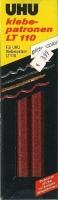 UHU Klebepatronen LT110 glitter-color rot 50g