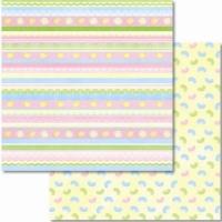 Premium Glitter Scrapbook paper Ostern 14