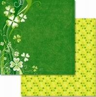 Premium Glitter Scrapbook paper Glück 24