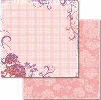 Premium Glitter Scrapbook paper Liebe 27