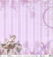 Premium Glitter Scrapbook paper Romantik 38